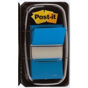 Index Post-it 680 blau 25,4x43,2mm