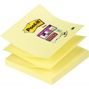 Post-it® Super Sticky Z-Notes R33012SY 1 Block á 90 Blatt,
