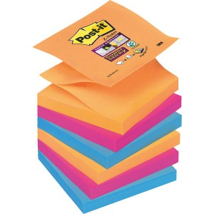 Post-it® Super Sticky Z-Notes R33012SY 6 Blöcke á 90 Blatt,