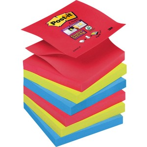 Post-it® Super Sticky Z-Notes R33006SJ 6 Blöcke á 90 Blatt,