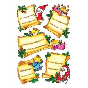 Schmucketikett Decor Weihnachten Weihnachtsbr. Pap.begl. 2Bl 1Pack