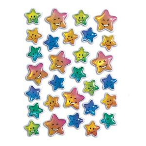 Schmucketikett Magic Stone Sterne bunt 1Bl 1Pack