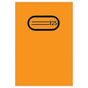 Heftschoner Folie transp. A4 orange