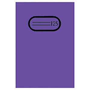 Heftschoner Folie transp. A4 violett