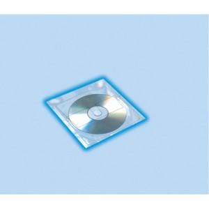 CD-DVD Hülle 129x130mm selbstklebend 10 Hüllen je Packung
