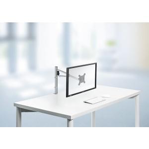 Monitorhalter My one plus C mit Zwinge, silber # 910+2019+000