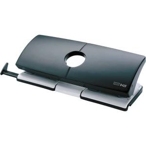 Doppellocher B425 grau/schwarz Stanzleistung 25 Blatt, Lochabstand