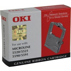 Farbbandkassette schwarz für Microline 5500,5520,5521,5590,5591