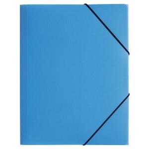 Gummizugmappe A4, 3 Klappen, Trend, hellblau