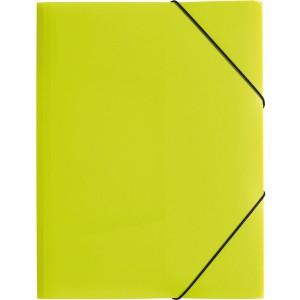 Gummizugmappe A4, 3 Klappen, Trend, lindgrün