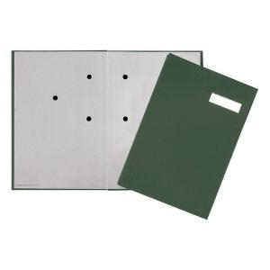 Unterschriftsmappe, 20tlg. Mit Eco-Einband und grauem