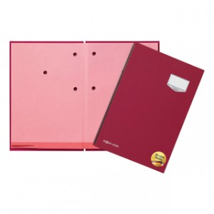 Unterschriftsmappe DE LUXE inkl bedruckbare Ersatzeinlagen