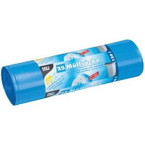 Müllbeutel, LDPE, 120l, 110x70cm, blau