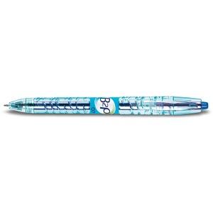 Gelschreiber B2P, Druckmechanik Edelstahlspitze, 0,4mm, blau
