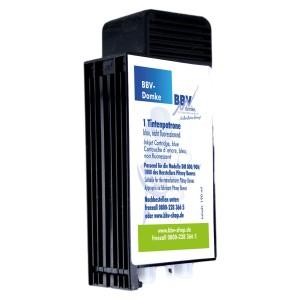 BBV-Farbkartusche blau für DM800/900/1000