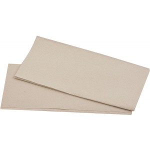 Papierhandtuch 25x23cm 1lag. natur Zickzackfalz, 250 Blatt