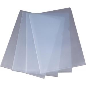 Sichthülle A5 PP, 0,12mm, transparent genarbt