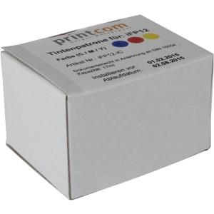 Tintenpatrone iFP12IC farbig für Printcom