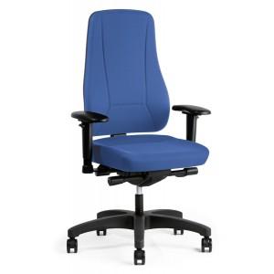 Bürodrehstuhl Younico pro 2456 Bezug: Lucia 6062 blau