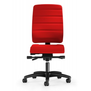 Bürodrehstuhl Yourope 4852 rubinrot Komfortpolstersitz, Gewichts-