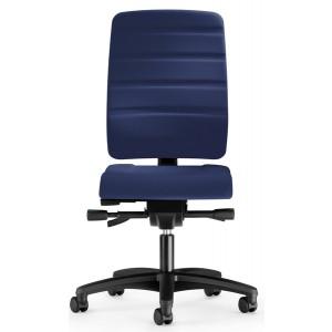 Bürodrehstuhl Yourope 4852 dunkel- blau, Kompfortpolstersitz,