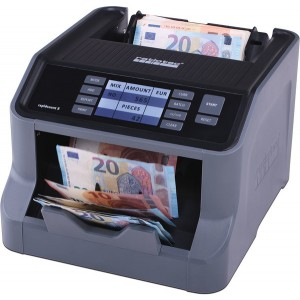 Banknotenzähler Rapidcount S 275 Zählt unsortierte Banknoten (Euro)