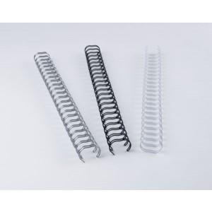 Binderücken Renz Ring Wire 2:1 8,0 mm für 60 Blatt weiß
