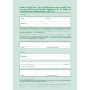 Arbeitsvertrag Teilzeit-Beschäftigte SD, 2 x 2 Blatt, DIN A4