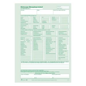 Universal-Mietvertrag mit Übergabe- protokoll, selbstdurchschreibend