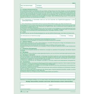 Arbeitsvertrag A4 2x2Bl. SD f. gewerbliche Arbeitnehmer