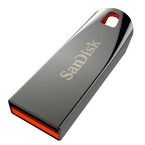 Speicherstick Cruzer Force, schwarz, USB 2.0, Kapazität 64 GB