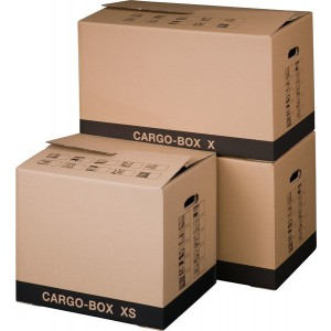 UmzugskartonCargobox X braun Innen 637x340x360mm Außenmaß: 645x348x376mm