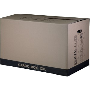 UmzugskartonCargobox XXL braun Innen 750x420x440 mm