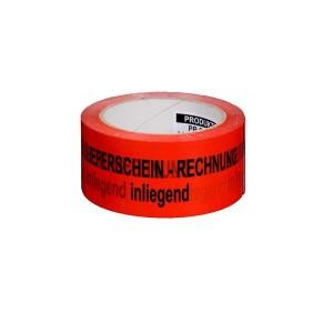 "PP-Signal-Klebeband ""Rechnung/Lief.."" Maße: 50 mm x 66 m"