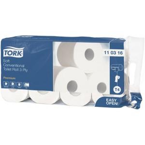 Toilettenpapier Premium 3-lagig, mit Prägung, weiß