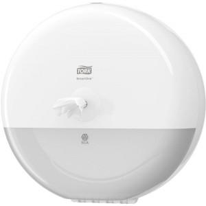 Spender SmartOne für Toiletten- papapier, weiß, Kunststoff,