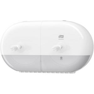 Spender SmartOne Mini für Toiletten- papapier, weiß, Kunststoff,