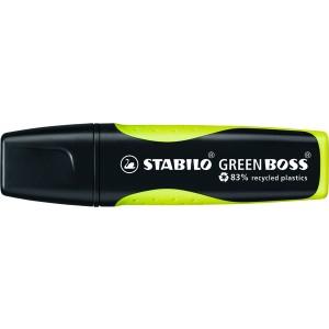 Textmarker Stabilo Green Boss 2-5mm gelb