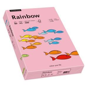 Kopierpapier Inkjet Rainbow A3 80g rosa