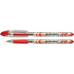 Schneider Kugelschreiber SLIDER Basic 1,4 mm Strichstärke XB, Visco Glide, rot