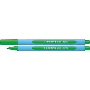 Kugelschreiber Slider Edge XB grün, Visco Glide