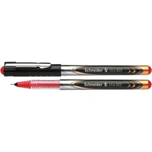 Tintenkugelschreiber XTRA 805 0,5mm, Röchrchenspitze, rot