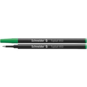 Tintenrollermine 850 Euro-Format grün, verschleißfeste Edelstahlspitze