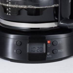 Kaffeemaschine KA4132, schwarz, bis 10 Tassen, Glaskanne,
