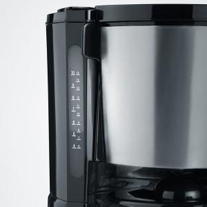 Kaffeemaschine KA4496, Edelstahl gebürstet, schwarz, bis 10 Tassen