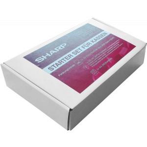 Starterset für Sharp XEA Kassen besteht aus Konvertierungstool,