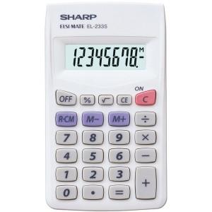 Taschenrechner EL-233S 8-stellig,