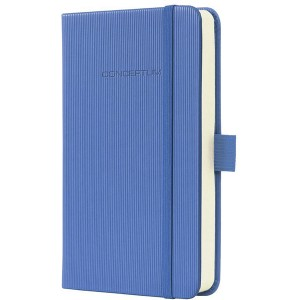 Notizbuch CONCEPTUM, 80g, Hardcover Softwave-Oberfläche, Dust Blue,