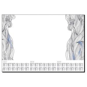 Schreibunterlage Design: Relax, 80g/qm, 595 x 410 mm, 30 Blatt,