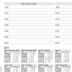 Papier Schreibunterlage Design: Weekly Planner, 52 Blatt, 80g/qm